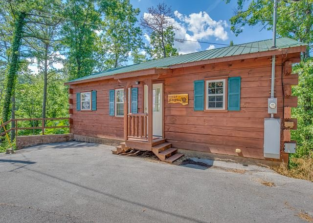 Romantic 1BR Cabin w/ Views & Private Hot Tub! Summer from $99!!! - Image 1 - Sevierville - rentals