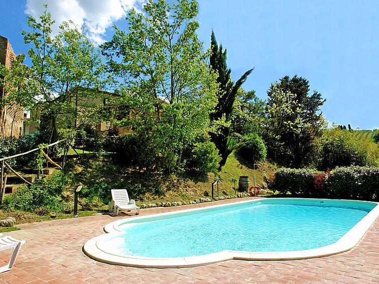 4 bedroom Villa in San Gimignano, Chianti Classico, Italy : ref 2013867 - Image 1 - San Gimignano - rentals