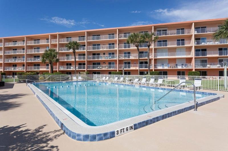 Large Heated Pool - FLcasa Vacation Rental at Cocoa Beach Towers - Cocoa Beach - rentals