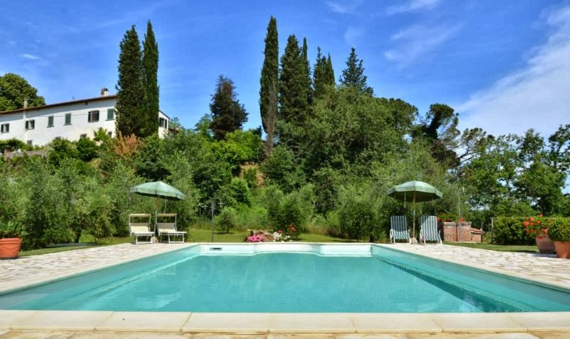 4 bedroom Villa in San Miniato, Pisa And Surroundings, Tuscany, Italy : ref - Image 1 - Corazzano - rentals