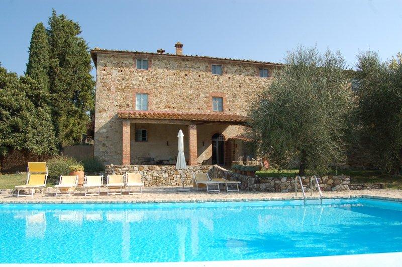 6 bedroom Villa in Castellina, Chianti, Tuscany, Italy : ref 2135265 - Image 1 - Castellina In Chianti - rentals