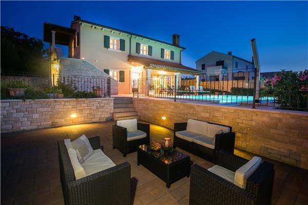 4 bedroom Villa in Porec, Istria, Sveti Lovrec, Croatia : ref 2211150 - Image 1 - Porec - rentals