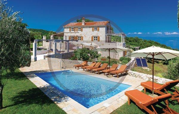 3 bedroom Villa in Opatija-Brsec, Opatija, Croatia : ref 2218895 - Image 1 - Brsec - rentals