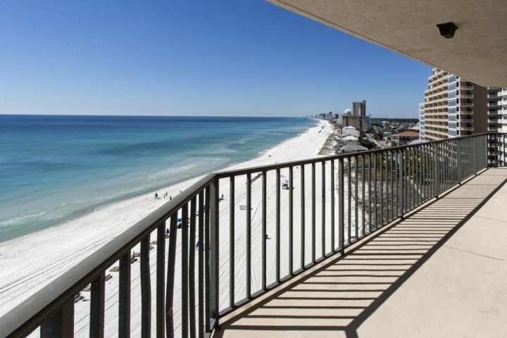 Stunning views from this wrap around balcony! - 1015 Summerhouse - Panama City Beach - rentals