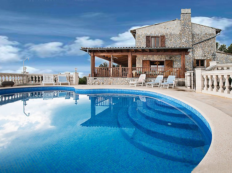 5 bedroom Villa in Esporles, Mallorca, Mallorca : ref 2242240 - Image 1 - Puigpunyent - rentals