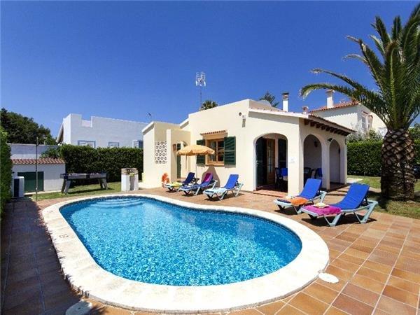 3 bedroom Villa in Cala Blanca, Minorca, Menorca : ref 2264949 - Image 1 - Cala Blanca - rentals