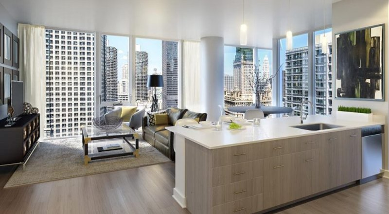 Furnished 2-Bedroom Apartment at W Randolph St & N Dearborn St Chicago - Image 1 - Chicago - rentals