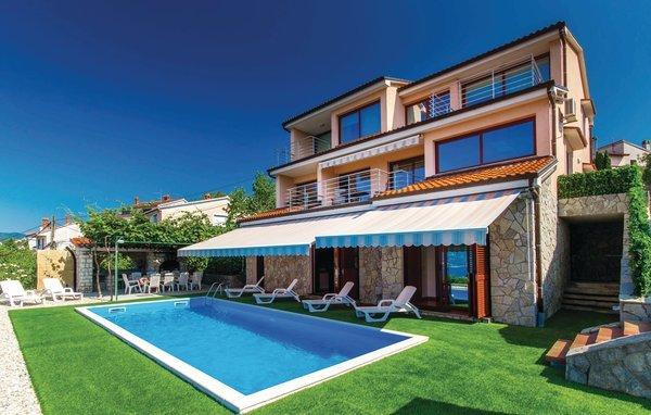 5 bedroom Villa in Opatija-Rijeka, Opatija, Croatia : ref 2279000 - Image 1 - Kastav - rentals