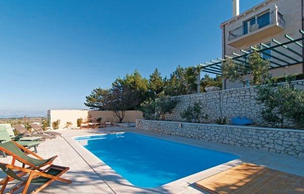 5 bedroom Villa in Brac-Nerezisca, Island Of Brac, Croatia : ref 2279028 - Image 1 - Nerezisca - rentals