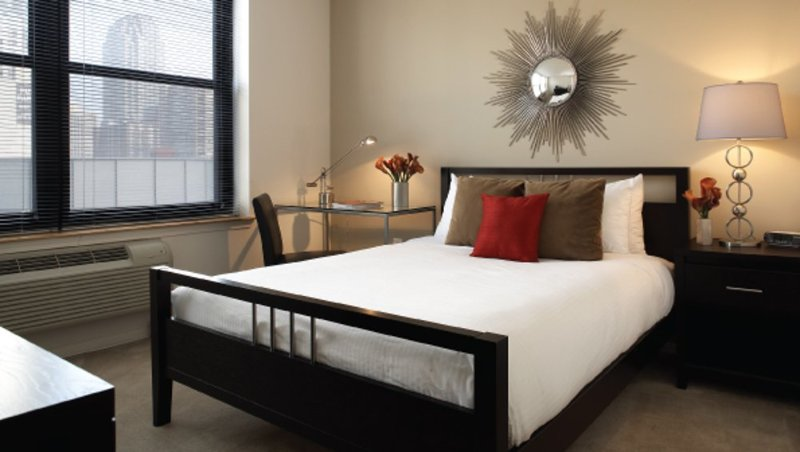 Furnished 1-Bedroom Apartment at River St & Marine View Plaza Hoboken - Image 1 - Hoboken - rentals