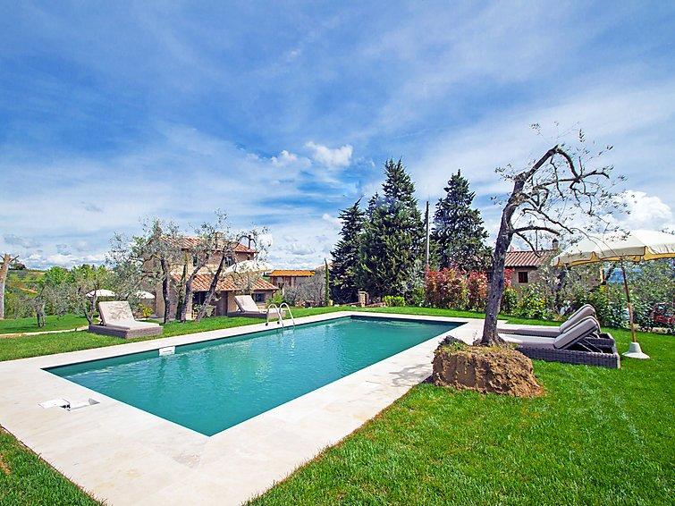 3 bedroom Villa in Gambassi Terme, Chianti, Italy : ref 2284235 - Image 1 - Gambassi Terme - rentals