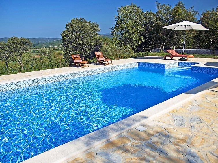 4 bedroom Villa in Boljun, Istria, Croatia : ref 2285363 - Image 1 - Boljun - rentals