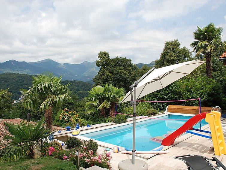 4 bedroom Villa in Cadro, Ticino, Switzerland : ref 2285420 - Image 1 - Villa Luganese - rentals