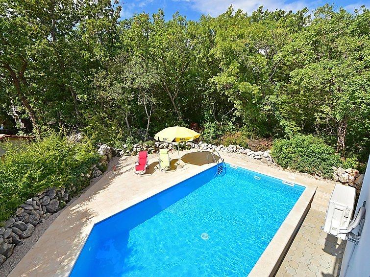 6 bedroom Villa in Krk Kornic, Kvarner Islands, Croatia : ref 2295950 - Image 1 - Kornic - rentals