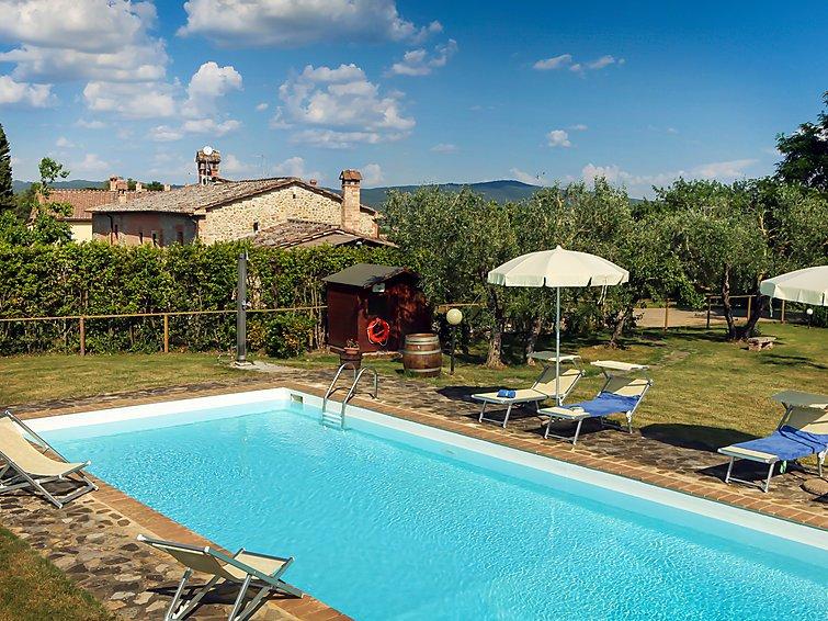 4 bedroom Villa in Castelnuovo Berardenga, Tuscany Chianti, Italy : ref 2298726 - Image 1 - Castelnuovo Berardenga - rentals