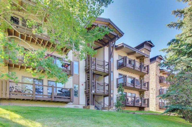 Stylish alpine condo w/ shared hot tubs & pool -  Elk Camp Gondola nearby! - Image 1 - Snowmass Village - rentals