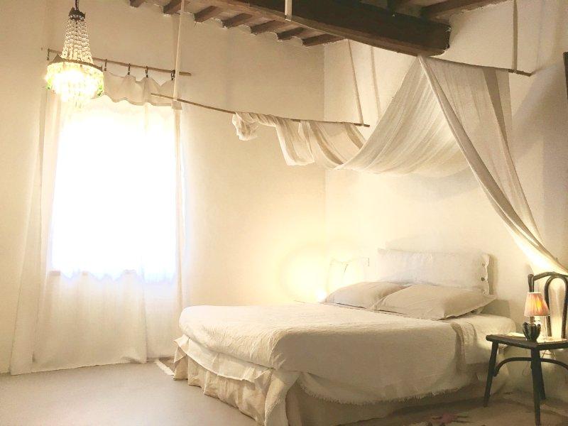 main bedroom - Capannacce Horsefarm Il poderino, 2 bedrooms - Rapolano Terme - rentals