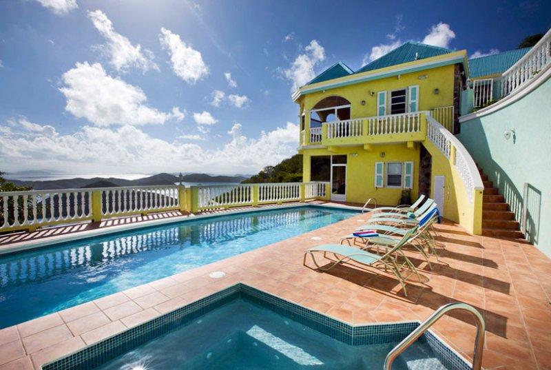 Villa Almost Heaven 3 Bedroom SPECIAL OFFER - Image 1 - Coral Bay - rentals