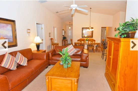 Sandy Ridge 4 Bedroom 3 Bath Pool Home with Lake View. 214SRD - Image 1 - Davenport - rentals