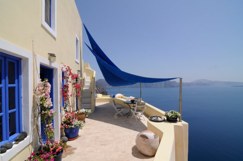 Ilivatos stunning view - Ilivatos  Oia  .. The house of your private escape - Oia - rentals