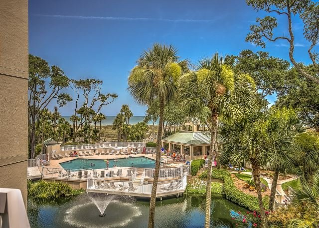 View - 206 Barrington Arms- OCEANFRONT and BEAUTIFUL - Hilton Head - rentals