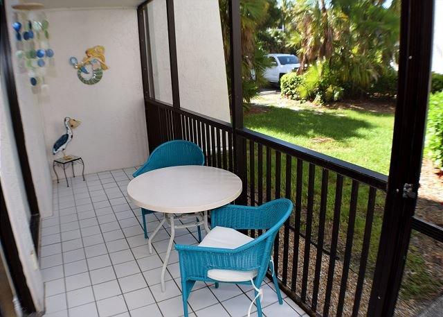 Lanai - Ground level condo at Sundial Beach Resort - Sanibel Island - rentals