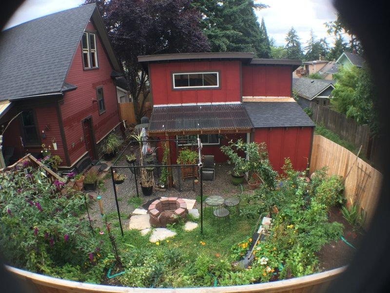 garden from above  - Alberta Arts  Two bedroom hidaway - Portland - rentals