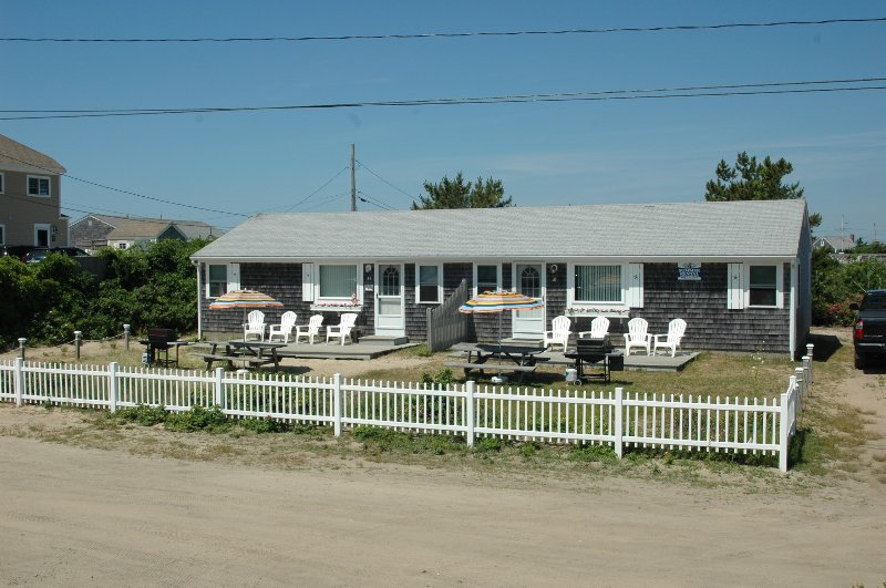 Front of Cottage - Cape Cod  Private Ocean  Beach. - West Dennis - rentals