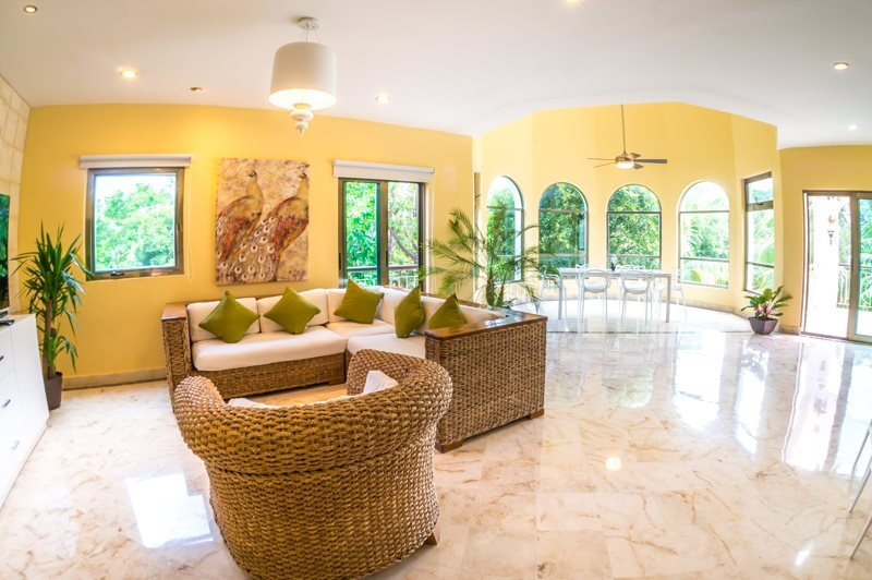 3 Bedroom Penthouse with Garden and Golf Course Views - Image 1 - Playa del Carmen - rentals