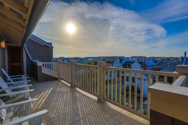 Balcony View - SIMMONS TOWNHOUSE - Rosemary Beach - rentals