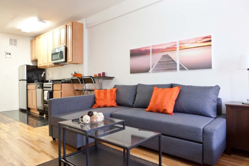 Furnished Studio Apartment at E 3rd St & Avenue A New York - Image 1 - New York City - rentals