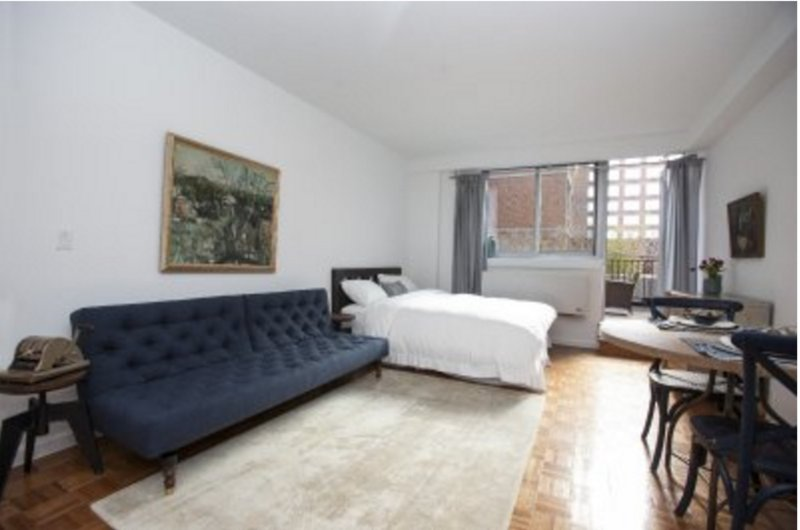 East Village Studio w/ Terrace - Image 1 - New York City - rentals