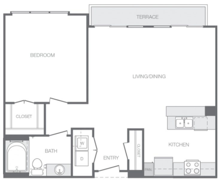 Furnished 1-Bedroom Apartment at S Conkling St & Toone St Baltimore - Image 1 - Baltimore - rentals