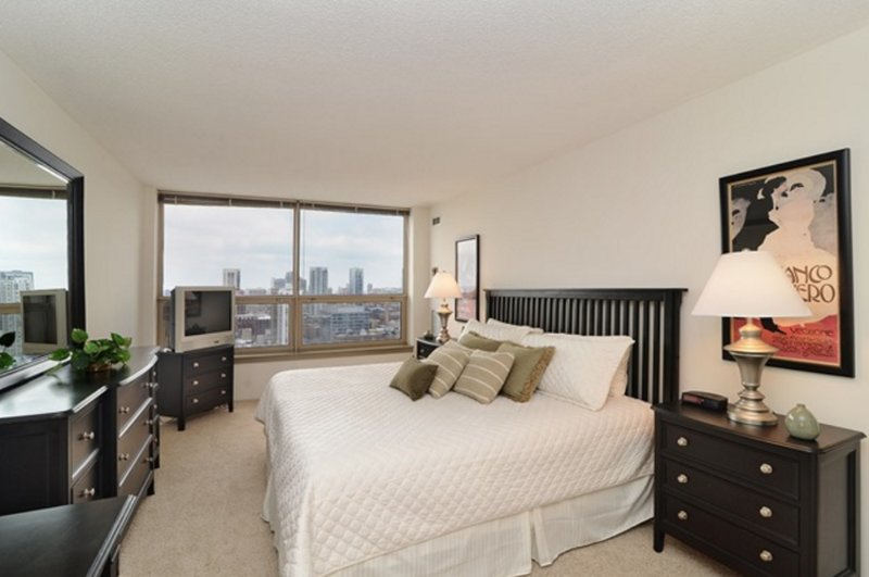 Furnished 1-Bedroom Apartment at W Madison St & S Clinton St Chicago - Image 1 - Chicago - rentals