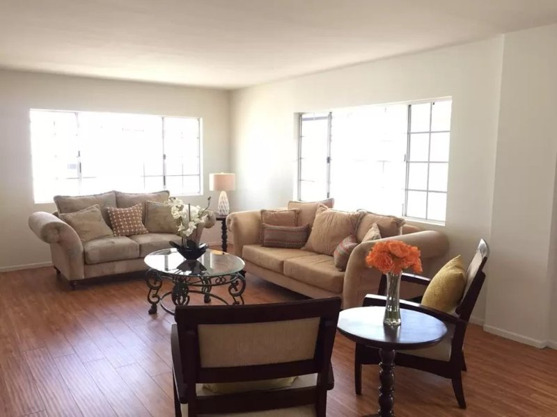 Furnished 3-Bedroom Apartment at Barry Ave & Texas Ave Los Angeles - Image 1 - Westwood  Los Angeles County - rentals
