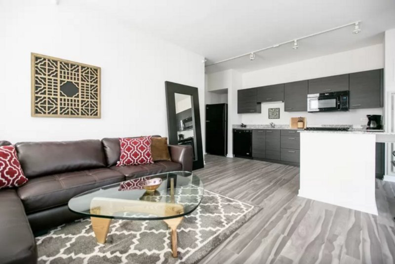Furnished 1-Bedroom Apartment at W Chicago Ave & N LaSalle St Chicago - Image 1 - Chicago - rentals