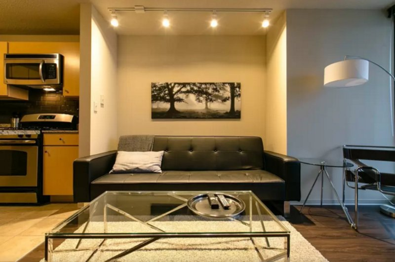 Furnished 1-Bedroom Apartment at E Upper Wacker Dr & N Columbus Dr Chicago - Image 1 - Chicago - rentals