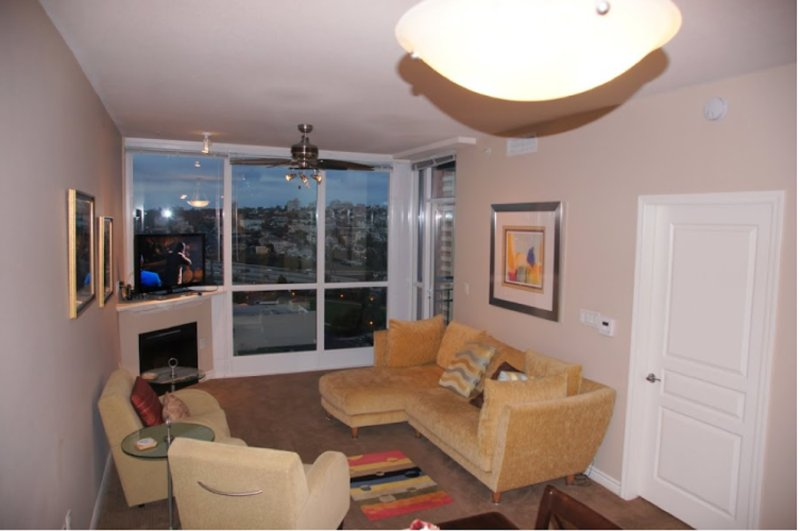 Furnished 1-Bedroom Apartment at Union St & W Beech St San Diego - Image 1 - San Diego - rentals