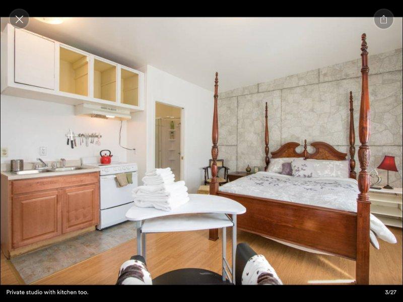 Furnished Studio Apartment at Broadway St & Nebraska St Vallejo - Image 1 - Vallejo - rentals