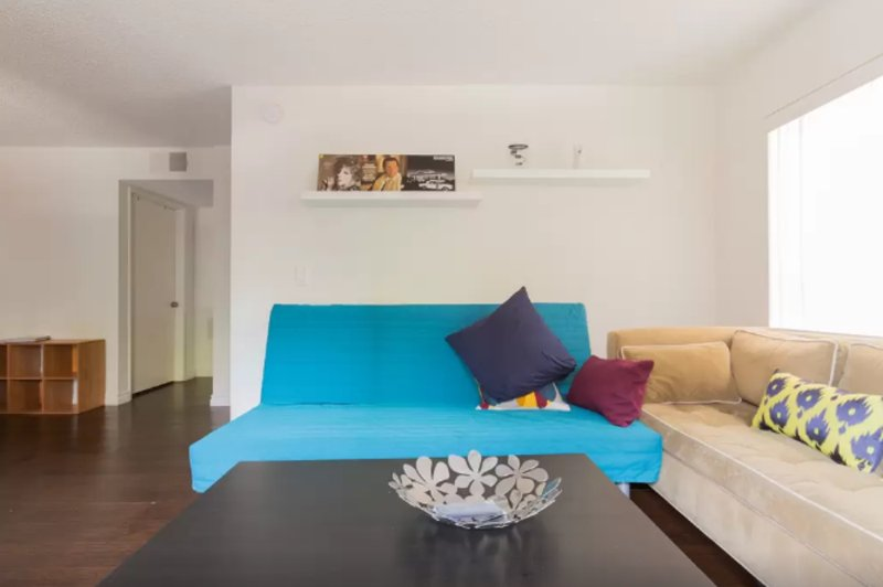 Furnished 1-Bedroom Apartment at Highland Ave & Romaine St Los Angeles - Image 1 - Los Angeles - rentals