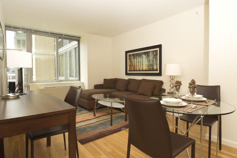 Furnished 1-Bedroom Apartment at Barker Ave & Cottage Pl White Plains - Image 1 - White Plains - rentals