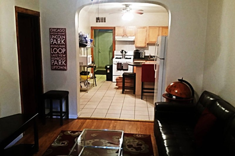 Furnished 2-Bedroom Apartment at W George St & N Maplewood Ave Chicago - Image 1 - Chicago - rentals