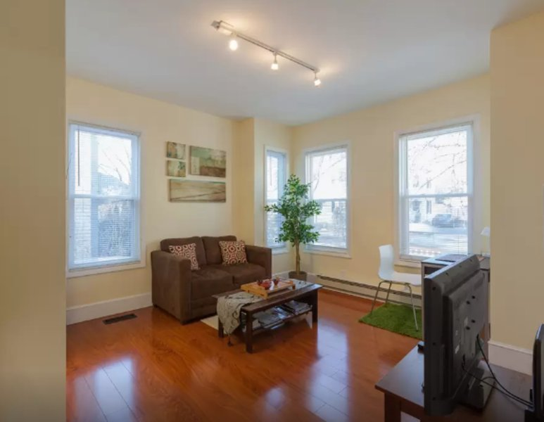 Furnished 1-Bedroom Apartment at Summer St & Quincy St Somerville - Image 1 - Somerville - rentals