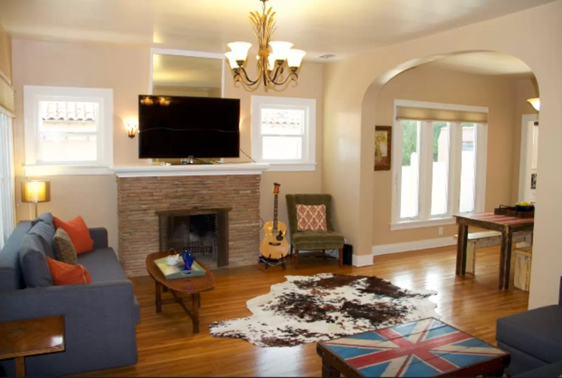 Furnished 4-Bedroom Home at N Beachwood Dr & Graciosa Dr Los Angeles - Image 1 - Los Angeles - rentals