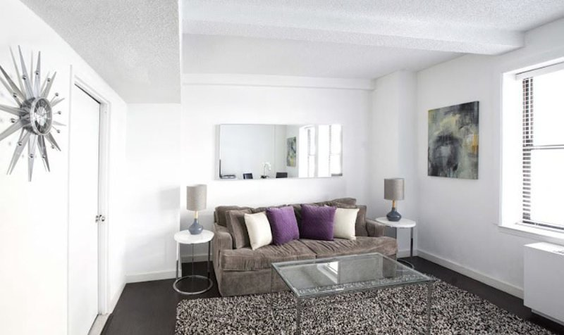 Furnished 1-Bedroom Apartment at 7th Ave & W 52nd St New York - Image 1 - New York City - rentals