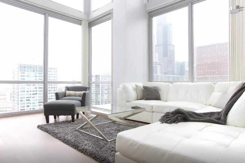 Furnished 3-Bedroom Apartment at W Polk St & S Clark St Chicago - Image 1 - Chicago - rentals