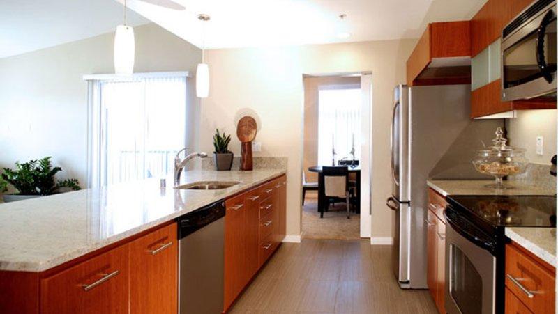 Furnished 2-Bedroom Apartment at Lick Mill Blvd & Mansion Park Dr Santa Clara - Image 1 - Santa Clara - rentals