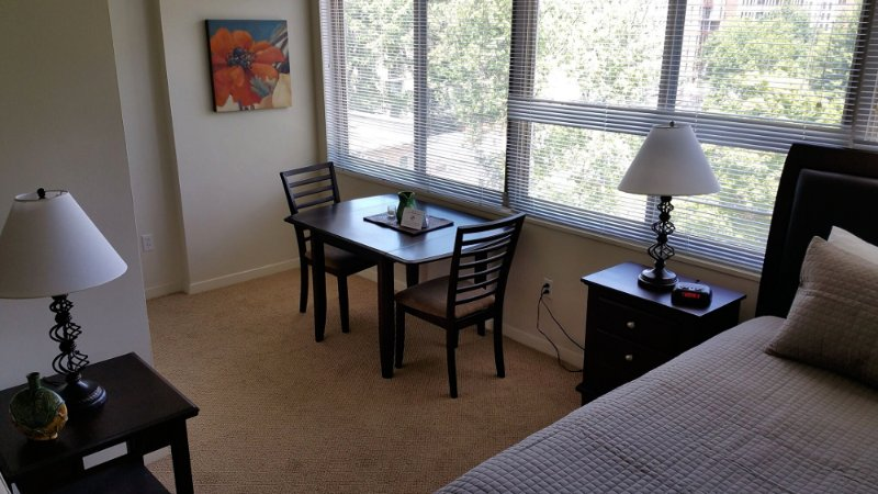 Furnished Studio Apartment at 925 25th St NW Washington - Image 1 - Rosslyn - rentals