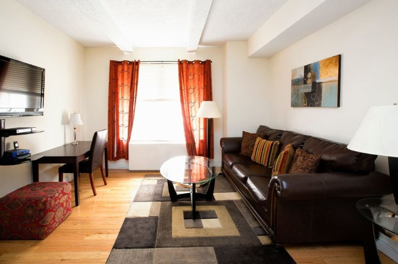 Furnished 1-Bedroom Apartment at 7th Ave & W 49th St New York - Image 1 - New York City - rentals