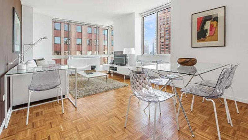 Furnished 2-Bedroom Apartment at 9th Ave & W 50th St New York - Image 1 - Weehawken - rentals